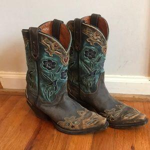 Dan Post Boots bluebird size 7